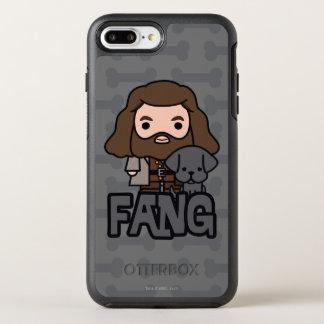 Funda OtterBox Symmetry Para iPhone 8 Plus/7 Plus Dibujo animado Hagrid y arte del carácter del