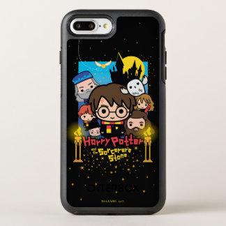 Funda OtterBox Symmetry Para iPhone 8 Plus/7 Plus Dibujo animado Harry Potter y la piedra del