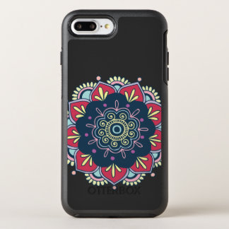 Funda OtterBox Symmetry Para iPhone 8 Plus/7 Plus Diseño colorido de la mandala