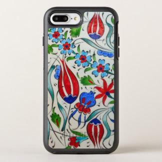 Funda OtterBox Symmetry Para iPhone 8 Plus/7 Plus Diseño floral turco