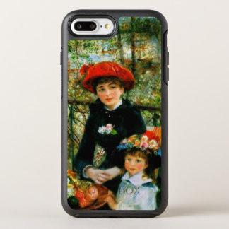 Funda OtterBox Symmetry Para iPhone 8 Plus/7 Plus Dos hermanas en la terraza