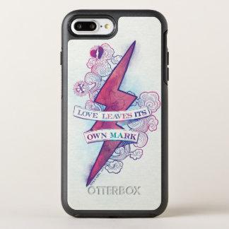 Funda OtterBox Symmetry Para iPhone 8 Plus/7 Plus El amor del encanto el   de Harry Potter deja su