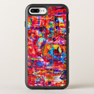Funda OtterBox Symmetry Para iPhone 8 Plus/7 Plus El extracto multi lindo de los colores agita la