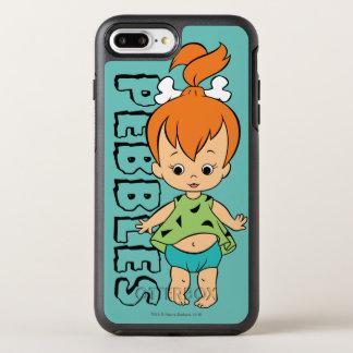 Funda OtterBox Symmetry Para iPhone 8 Plus/7 Plus El Flintstone de los guijarros de los Flintstones