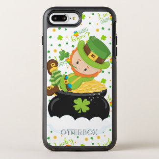 Funda OtterBox Symmetry Para iPhone 8 Plus/7 Plus El Leprechaun del arroz del St