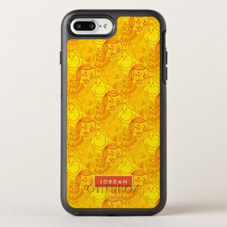 Funda OtterBox Symmetry Para iPhone 8 Plus/7 Plus El modelo amarillo soleado el | añade su nombre