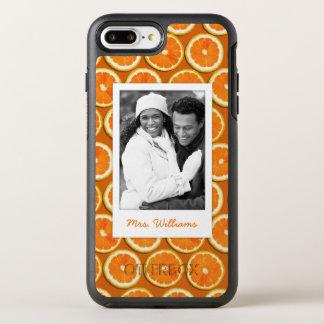 Funda OtterBox Symmetry Para iPhone 8 Plus/7 Plus El modelo anaranjado el | de la rebanada añade su