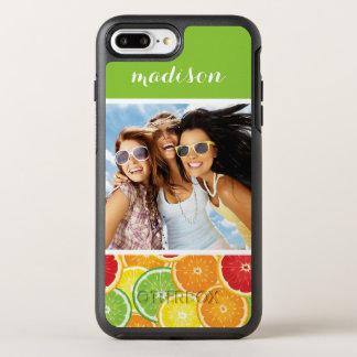 Funda OtterBox Symmetry Para iPhone 8 Plus/7 Plus El naranja, el pomelo, la cal y el limón el |