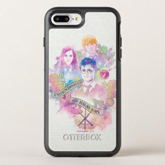 Funda OtterBox Symmetry Para iPhone 8 Plus/7 Plus Encanto el   Harry, Hermione, y Ron Waterc de