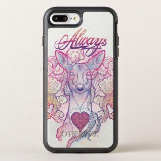 """Funda OtterBox Symmetry Para iPhone 8 Plus/7 Plus Encanto el   """"siempre"""" gama Patronus de Harry"""