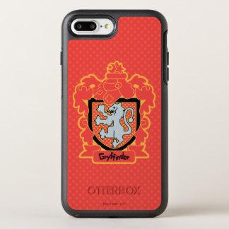 Funda OtterBox Symmetry Para iPhone 8 Plus/7 Plus Escudo de Gryffindor del dibujo animado
