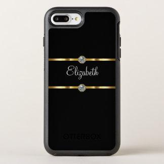 Funda OtterBox Symmetry Para iPhone 8 Plus/7 Plus Estilo glamoroso con clase del monograma
