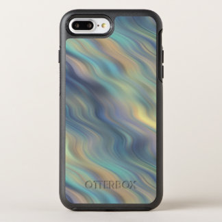 Funda OtterBox Symmetry Para iPhone 8 Plus/7 Plus Extracto en colores pastel de las corrientes que