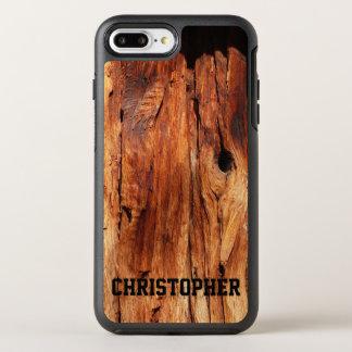 Funda OtterBox Symmetry Para iPhone 8 Plus/7 Plus Falso iPhone de madera resistido 7 de OtterBox más