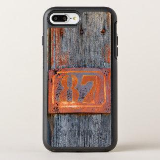 Funda OtterBox Symmetry Para iPhone 8 Plus/7 Plus Foto metalizado oxidada de no. 87 del número de