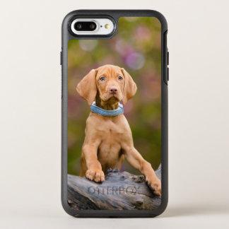 Funda OtterBox Symmetry Para iPhone 8 Plus/7 Plus Foto puppyeyed linda del perrito del perro de