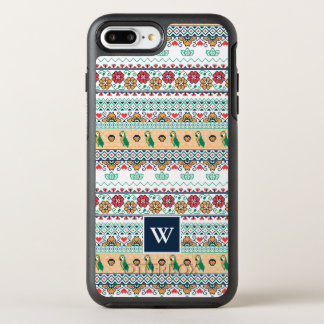 Funda OtterBox Symmetry Para iPhone 8 Plus/7 Plus Frida Kahlo el | Patrón de Colores