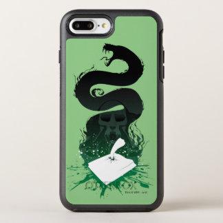 Funda OtterBox Symmetry Para iPhone 8 Plus/7 Plus Gráfico del diario de la criba de Harry Potter el
