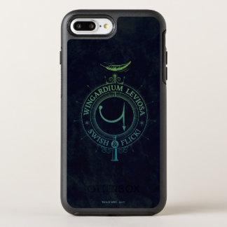 Funda OtterBox Symmetry Para iPhone 8 Plus/7 Plus Gráfico del encanto el   Wingardium Leviosa de
