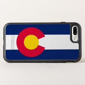 Funda OtterBox Symmetry Para iPhone 8 Plus/7 Plus Gráfico dinámico de la bandera del estado de