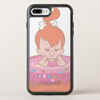 Funda OtterBox Symmetry Para iPhone 8 Plus/7 Plus Guijarros preciosos de los Flintstones