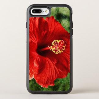 Funda OtterBox Symmetry Para iPhone 8 Plus/7 Plus Hibisco