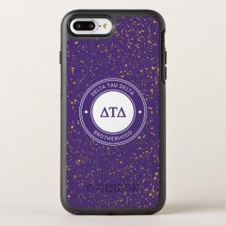 Funda OtterBox Symmetry Para iPhone 8 Plus/7 Plus Insignia del delta el | del Tau del delta