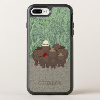 Funda OtterBox Symmetry Para iPhone 8 Plus/7 Plus iPhone de encargo de OtterBox Apple de los
