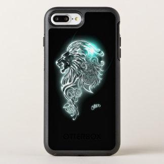 Funda OtterBox Symmetry Para iPhone 8 Plus/7 Plus León feroz que brilla intensamente