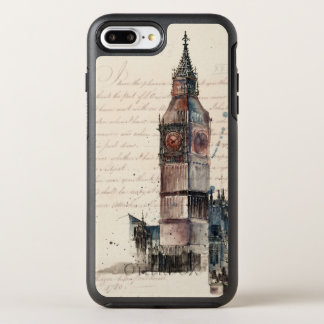 Funda OtterBox Symmetry Para iPhone 8 Plus/7 Plus Letras de Big Ben