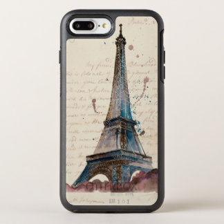 Funda OtterBox Symmetry Para iPhone 8 Plus/7 Plus Letras de Eiffel