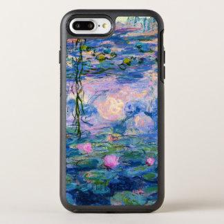 Funda OtterBox Symmetry Para iPhone 8 Plus/7 Plus Lirios de agua de Monet con reflexiones de la