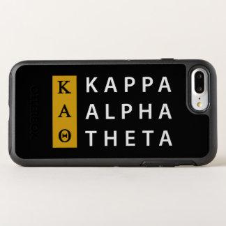 Funda OtterBox Symmetry Para iPhone 8 Plus/7 Plus Logotipo apilado el | alfa de la theta de Kappa
