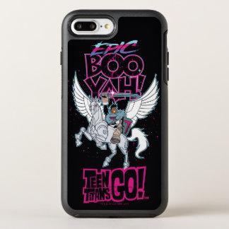 Funda OtterBox Symmetry Para iPhone 8 Plus/7 Plus ¡Los titanes adolescentes van! Cyborg del guerrero