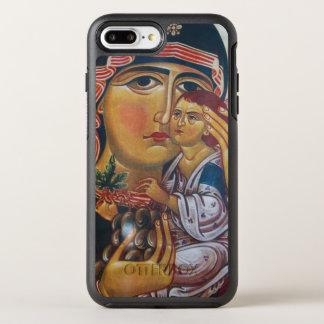 Funda OtterBox Symmetry Para iPhone 8 Plus/7 Plus Madre Maria y arte de Jesús