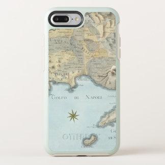 Funda OtterBox Symmetry Para iPhone 8 Plus/7 Plus Mapa del golfo de Nápoles y de los alrededores