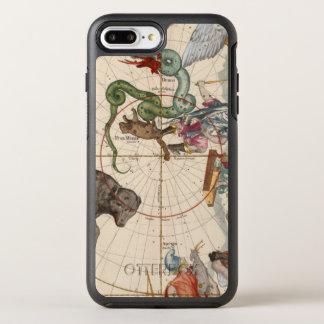 Funda OtterBox Symmetry Para iPhone 8 Plus/7 Plus Mapa del vintage del Polo Norte