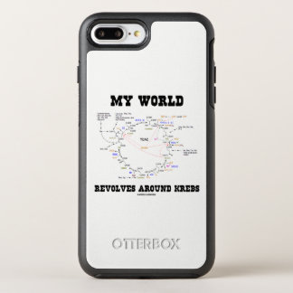 Funda OtterBox Symmetry Para iPhone 8 Plus/7 Plus Mi mundo gira alrededor de humor de la bioquímica