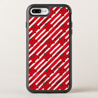 Funda OtterBox Symmetry Para iPhone 8 Plus/7 Plus Modelo de las rayas del rojo de Sr. Strong el |