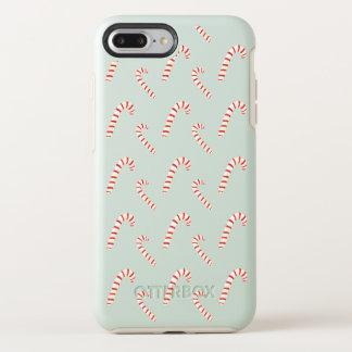 Funda OtterBox Symmetry Para iPhone 8 Plus/7 Plus Modelo de los bastones de caramelo