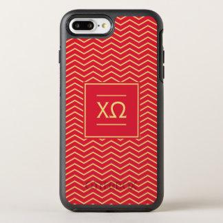 Funda OtterBox Symmetry Para iPhone 8 Plus/7 Plus Modelo de Omega el | Chevron de la ji