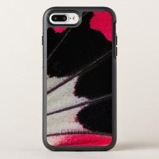 Funda OtterBox Symmetry Para iPhone 8 Plus/7 Plus Modelo del ala del detalle de la mariposa tropical
