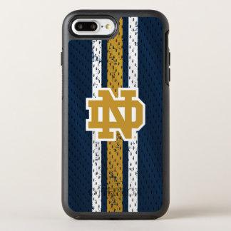 Funda OtterBox Symmetry Para iPhone 8 Plus/7 Plus Modelo del jersey de Notre Dame el |