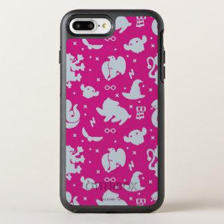 Funda OtterBox Symmetry Para iPhone 8 Plus/7 Plus Modelo mágico del lanzamiento de los iconos de