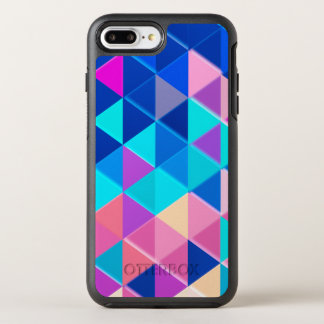 Funda OtterBox Symmetry Para iPhone 8 Plus/7 Plus Modelo retro del triángulo