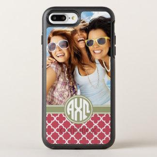 Funda OtterBox Symmetry Para iPhone 8 Plus/7 Plus Monograma y foto alfa de Omega el | de la ji
