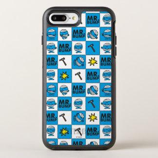 Funda OtterBox Symmetry Para iPhone 8 Plus/7 Plus Mosaico de Sr. Bump el | en modelo azul