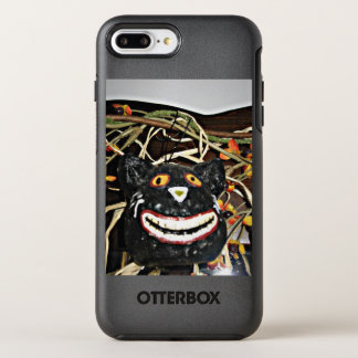 Funda OtterBox Symmetry Para iPhone 8 Plus/7 Plus Mueca del gato negro