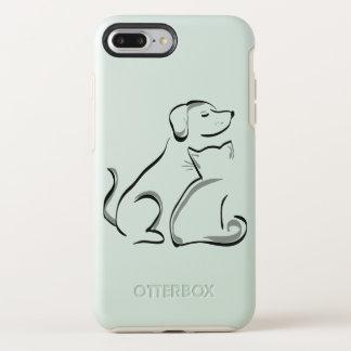 Funda OtterBox Symmetry Para iPhone 8 Plus/7 Plus Nutria box