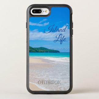 Funda OtterBox Symmetry Para iPhone 8 Plus/7 Plus Océano de la turquesa de la vida de la isla